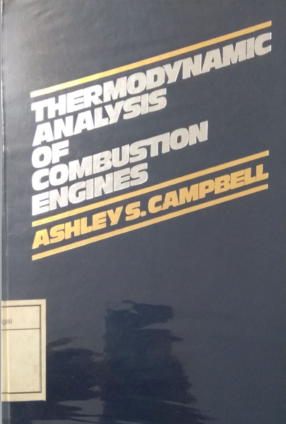 Thermodynamic Analysis Of Combustion Engines