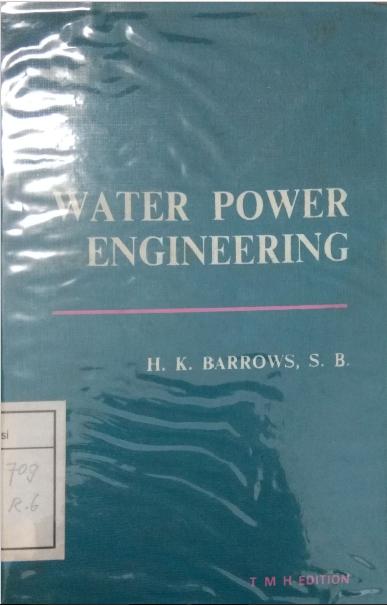 Water Power Engineering