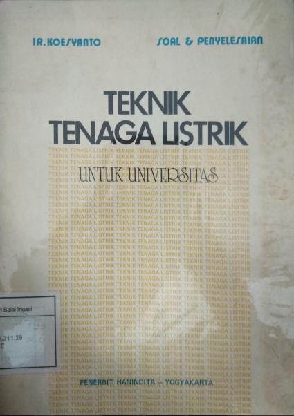 Teknik Tenaga Listrik Untuk Universitas