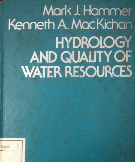 Hidrology And Quality Of Water Resources