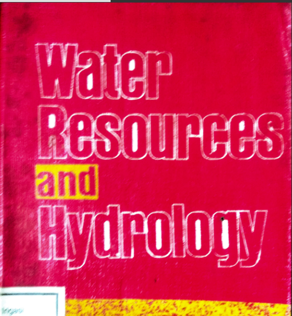 Water Resources And Hydrology