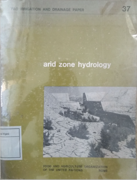 Arid Zone Hydrology