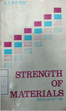 Strength Of Materials and Mechanics Of Structures( Vol. I)