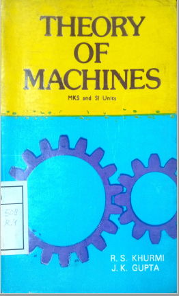 Theory Of Machines MKS and SI Units