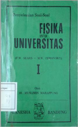 Penyelesaian Soal-soal Fisika Untuk Universitas