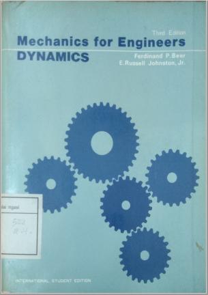 Mechanics For Engineering Dynamics