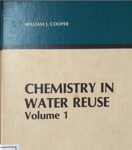 Chemistry In Water Reuse Volume 1