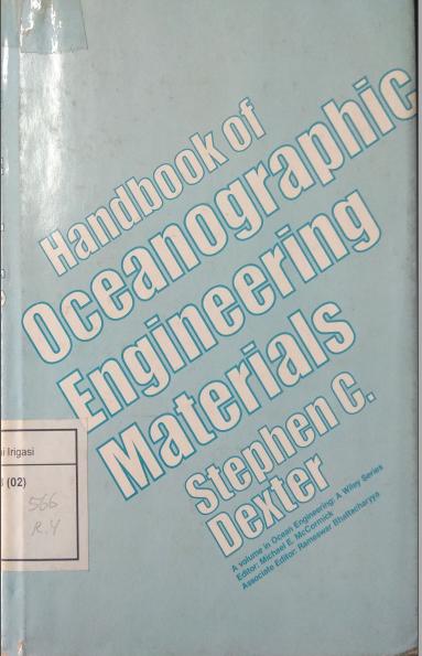Handbook Of Oceanographic Engineering Materials