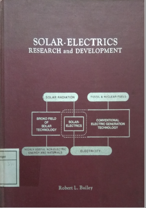 Solar -Electrics Research And Development