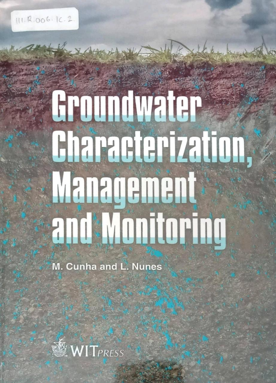 Groundwater Characterization Management And Monitoring