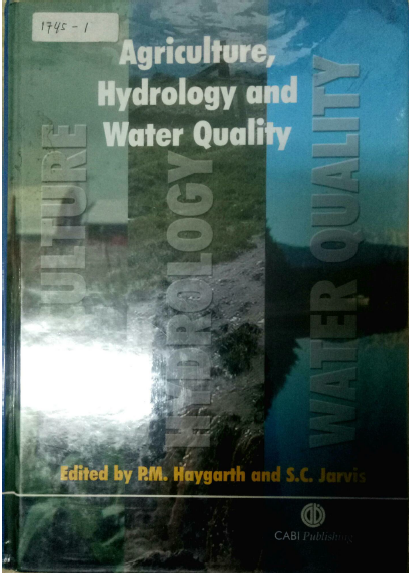 Agricultural, Hydrology And Water Quality