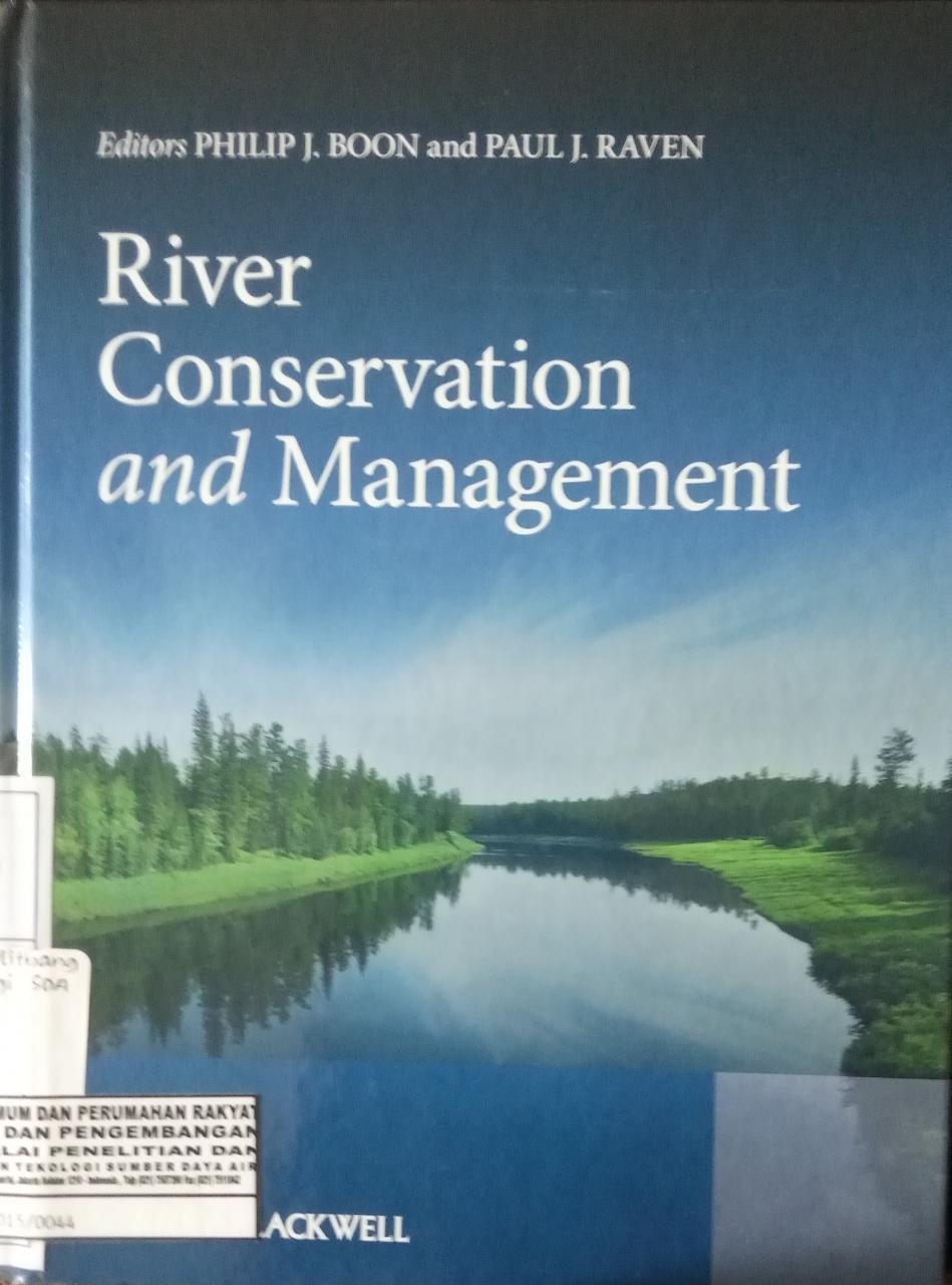 RIVER CONERVATION AND MANAGEMENT