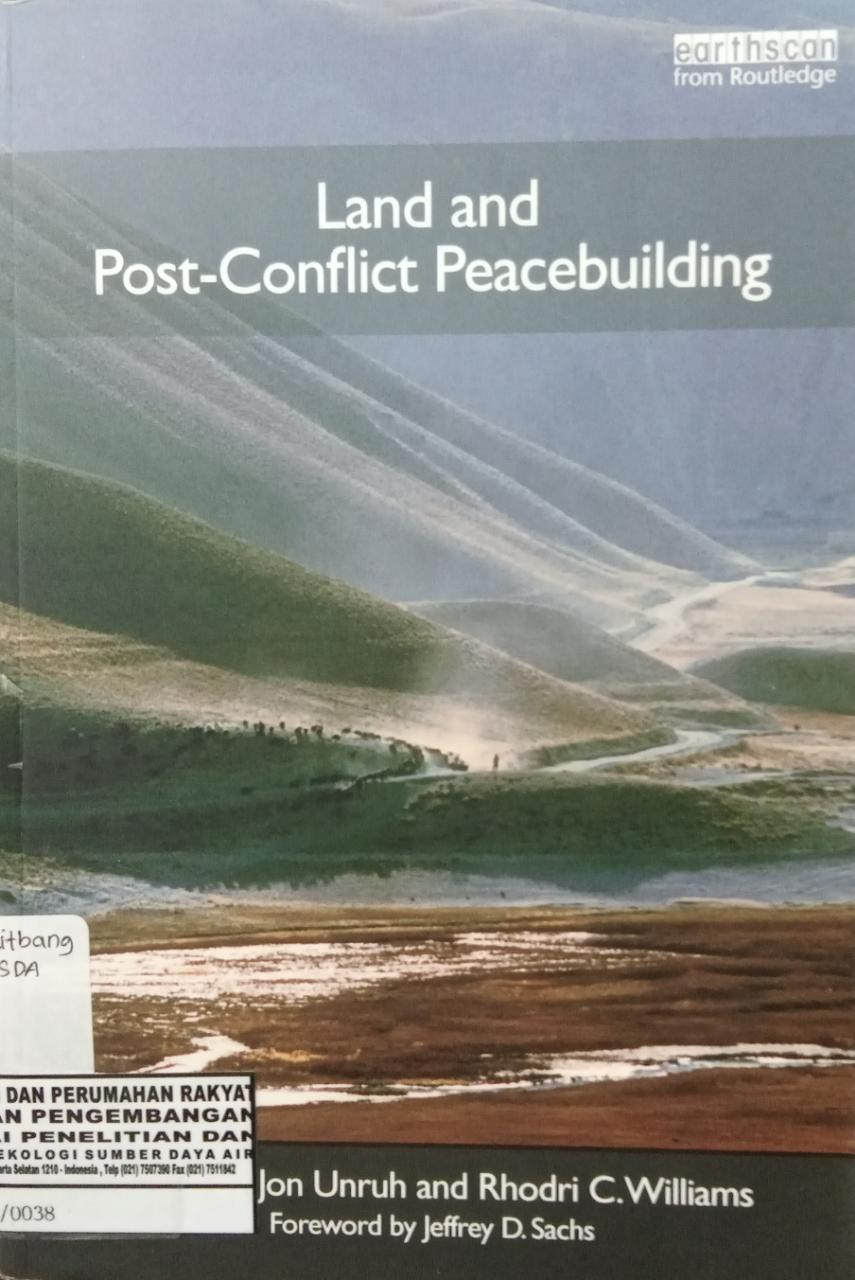 LAND AND POST CONFLICT PEACEBUILDING