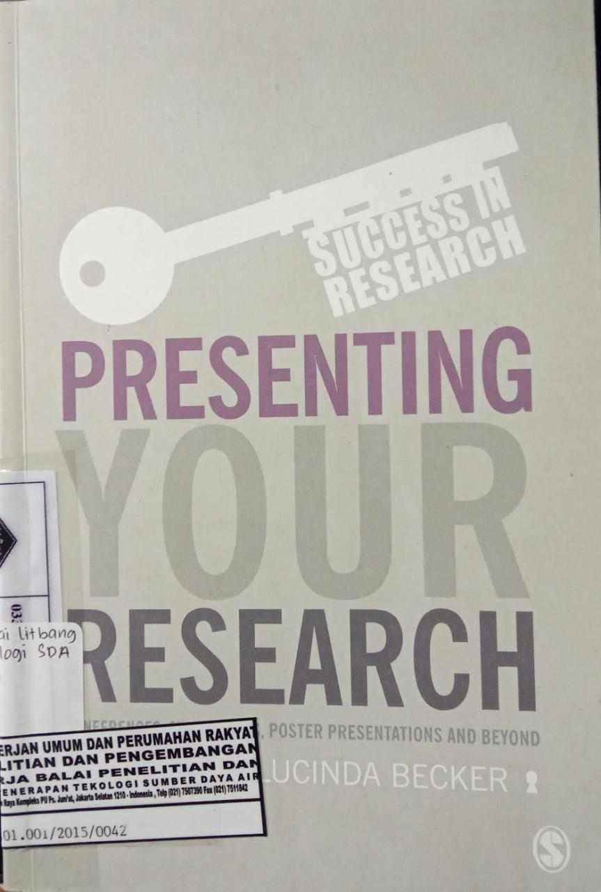 PRESENTING YOUR RESEARH