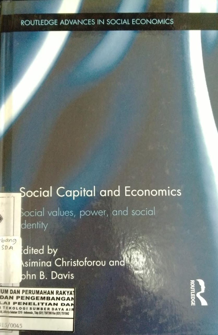 SOSIAL CAPITAL AND ECONOMICS