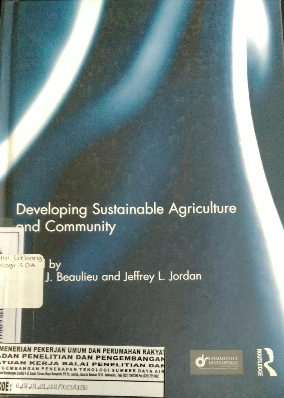 Developing Sustainable Agriculture And Community