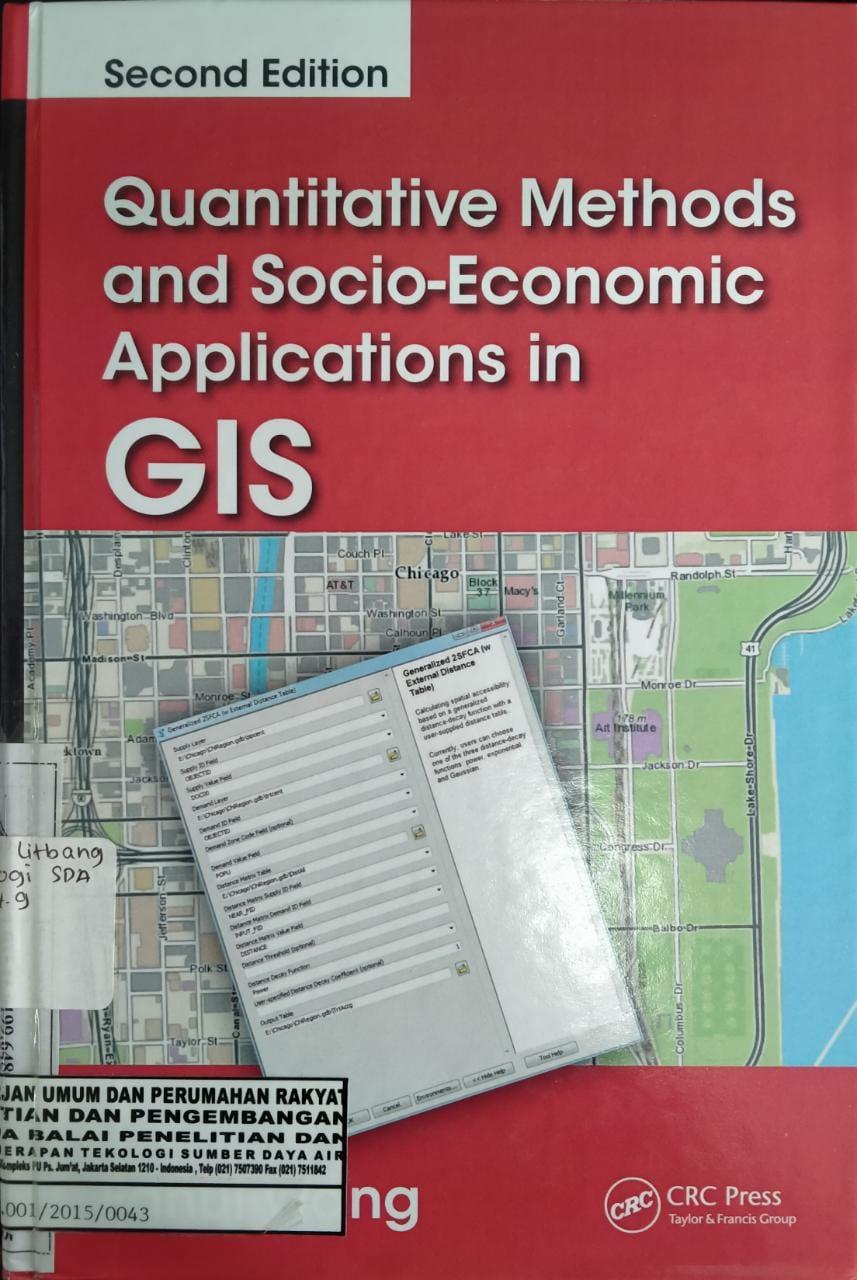 Quantitative Menthods and Socio-Economic Applications in GIS