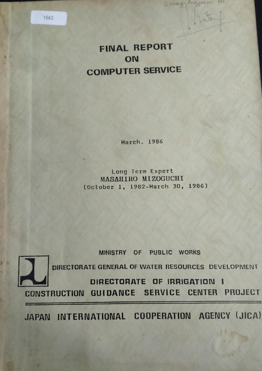Final Report On Computer Service
