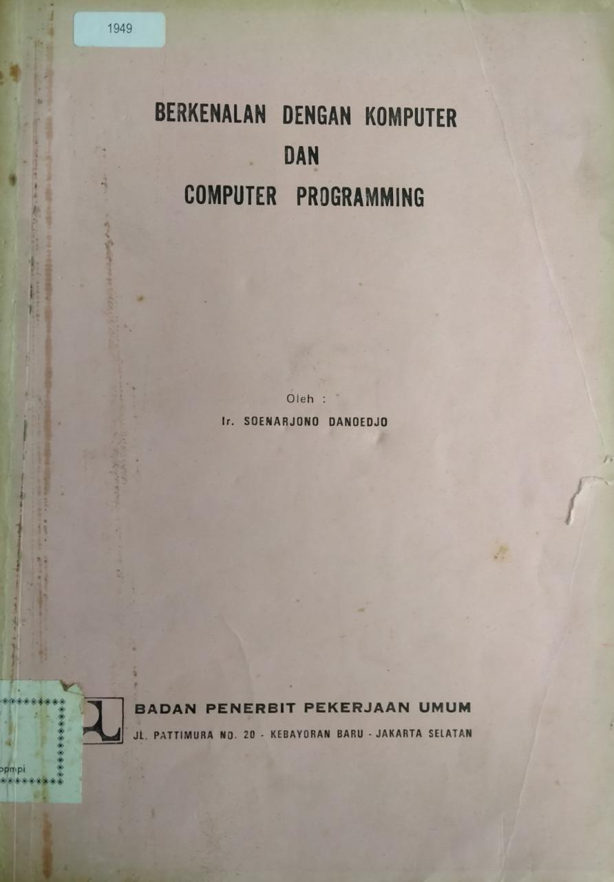 Berkenalan Dengan Komputer Dan Computer Programming
