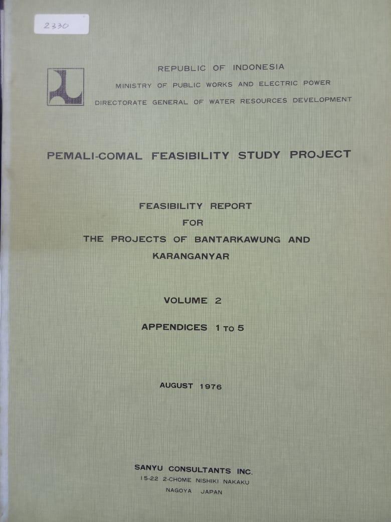 PEMALI-COMAL FEASIBILITY STUDY PROJECT