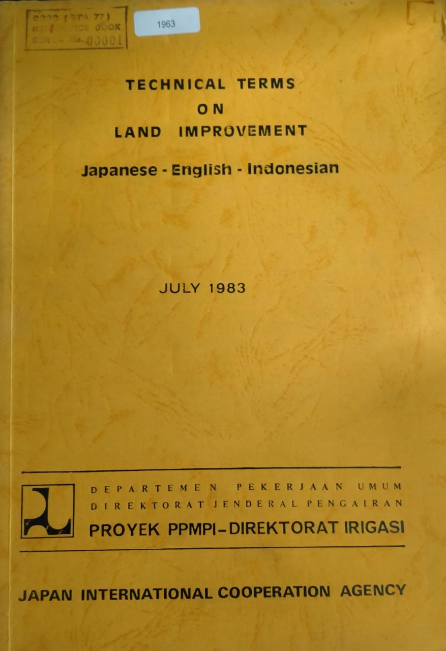 Technical Terms On Land Improvement