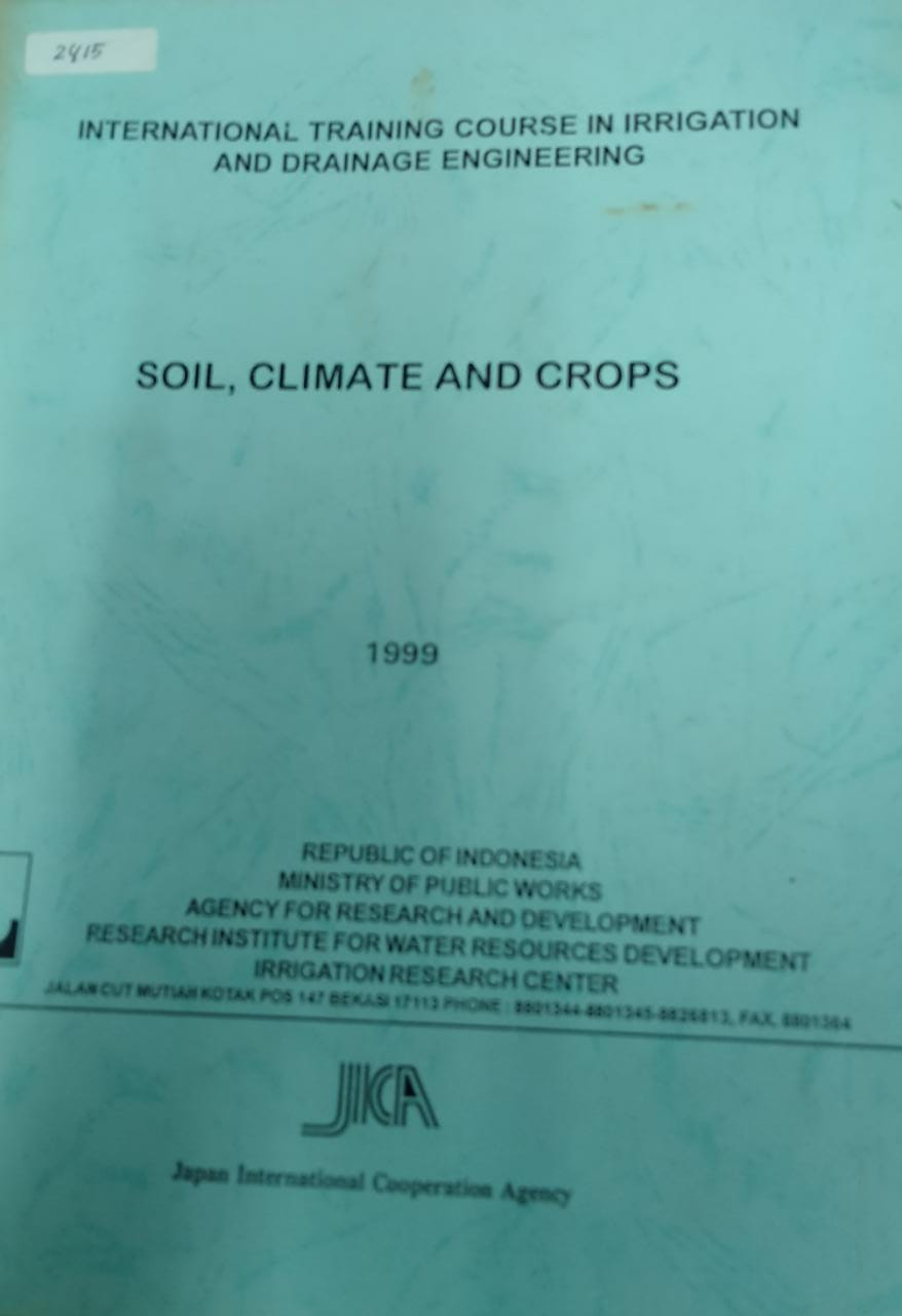 Soil,Climate And Crops