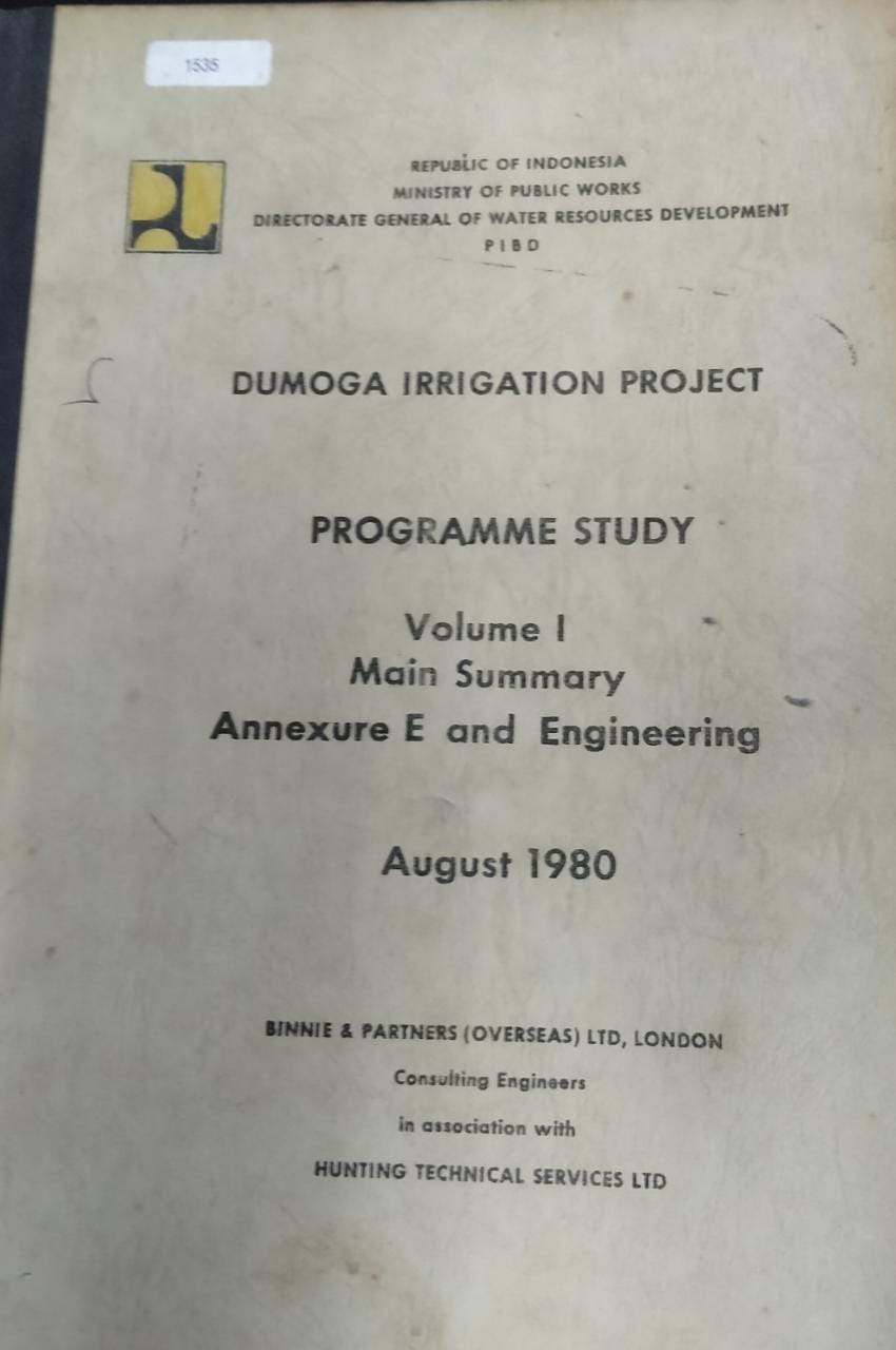 Dumoga Irrigation Project