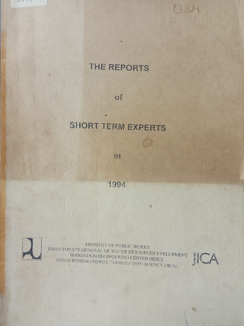 THE REPORTS OF SHORT TERM EXPERTS