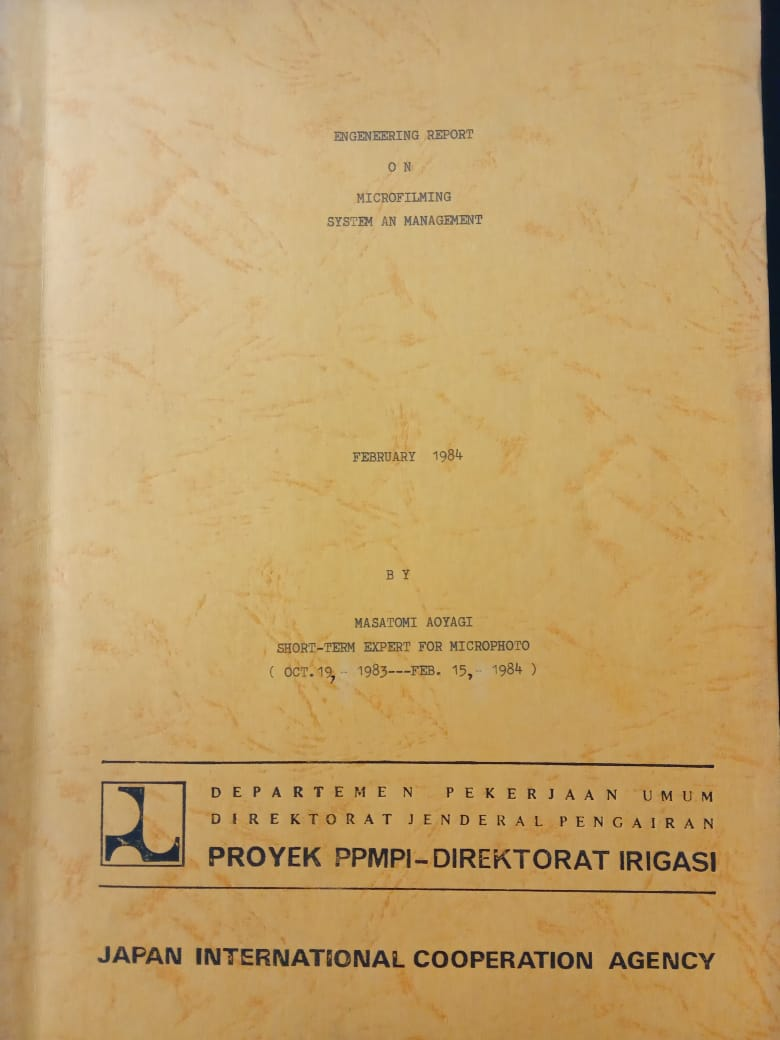 ENGINEERING REPORT ON MICROFILMING SYSTEM AN MANAGEMENT