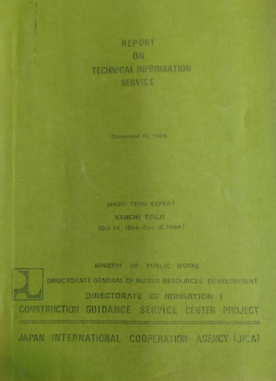 Report On Technical Information Service